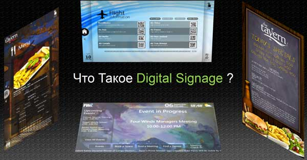All about Digital signage