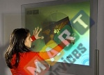 Displax Skin Multitouch is a sensor film for creating multi-touch surfaces (42 inches)